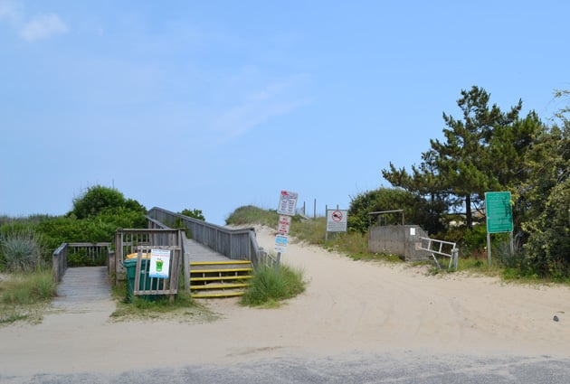 albacore-beach-access-2