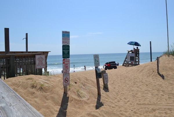 byrd street beach access