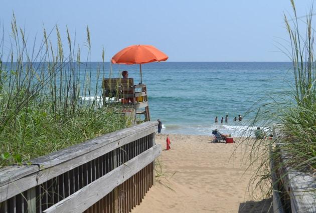 carlow beach access