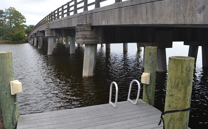 Manteo Sound Access at Roanoke Island Festival Park
