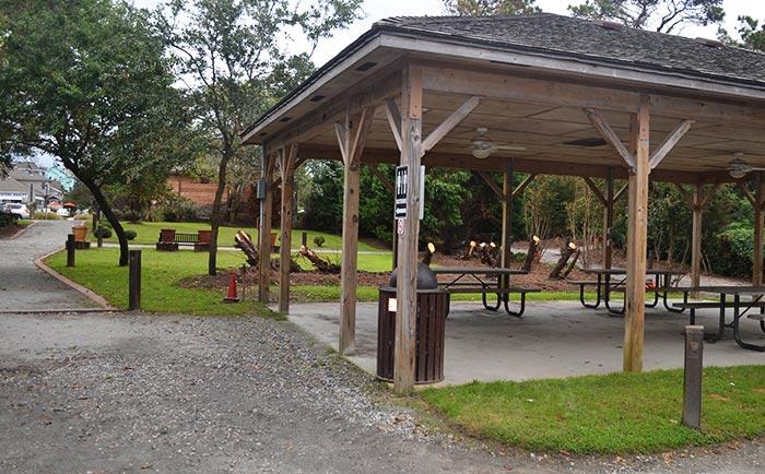 Duck, NC Town Park Pavilion