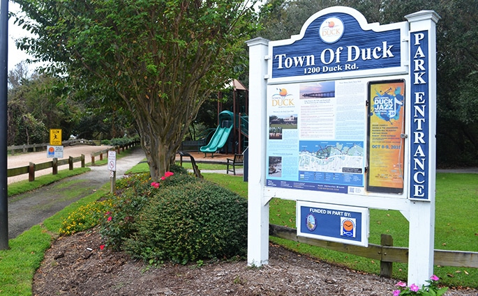 Duck, NC Town Park Sound Access