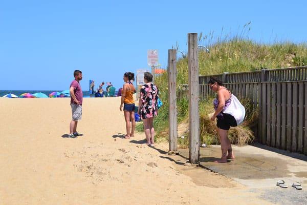 second street beach access