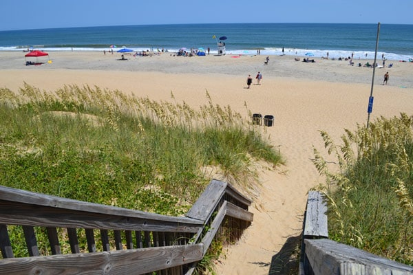 town hall beach access