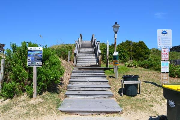 barnes street beach access