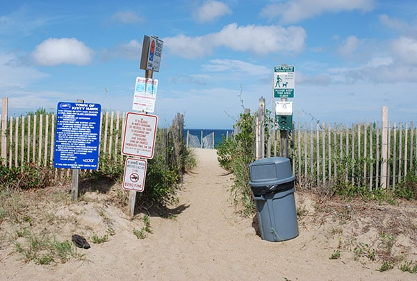 fonck street beach access