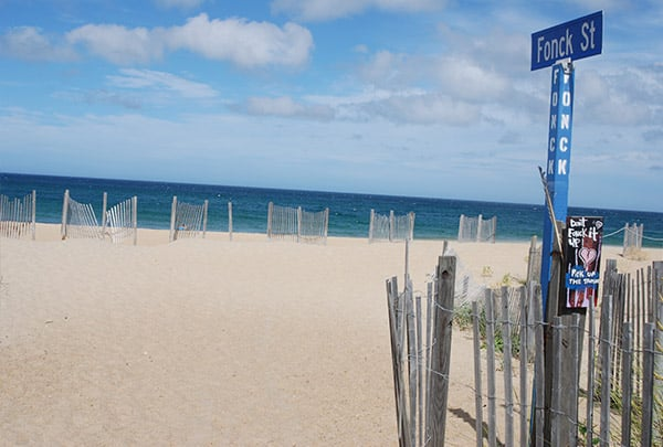 fonck st beach access