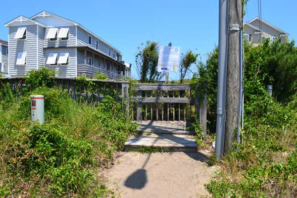 fourth street beach access