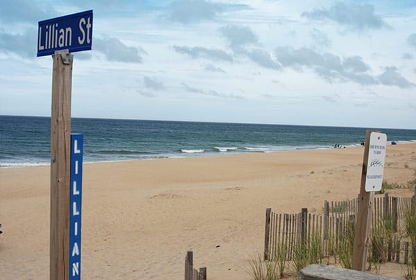 lillian st beach access