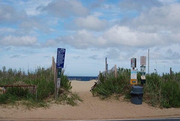luke street beach access