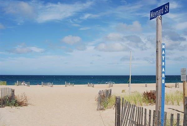 maynard street beach access