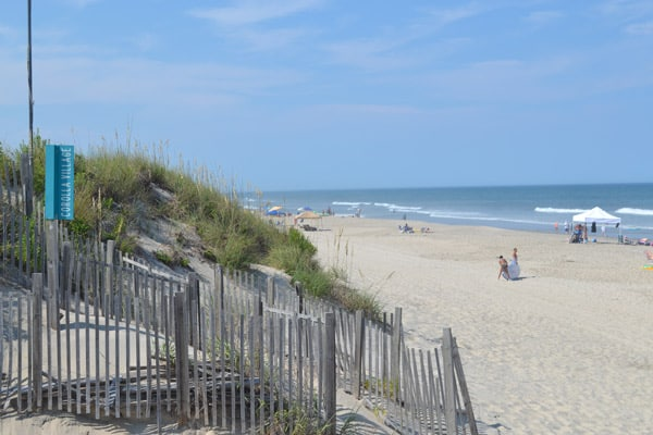 corolla beach access