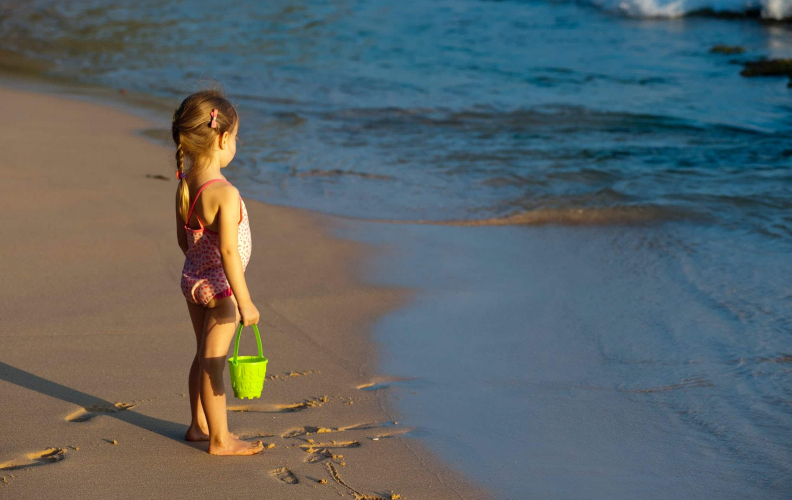 Years of Raising Kids By the Sea Yields Simple Advice:  Always Swim Near a Lifeguard